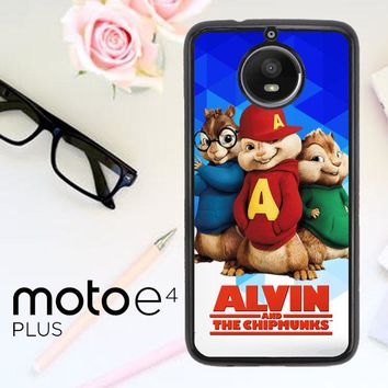 Alvin And The Chipmunks R0317 Motorola Moto E4 Plus Case