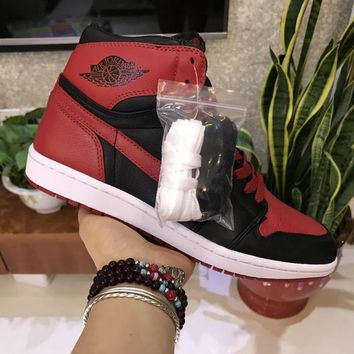 Air Jordan 1 Banned Sneaker Shoe