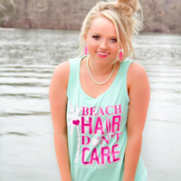 Jadelynn Brooke: Beach Hair Tank {Mint}