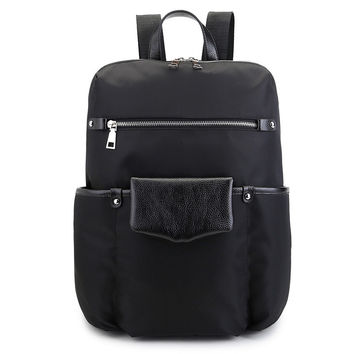 Casual Backpack Korean Leather Travel Bags [4915419588]
