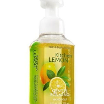 NEW Bath & Body Works Kitchen Lemon Gentle Foaming Hand Soap 8.75oz/ 259ml