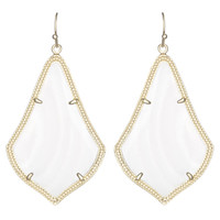 Kendra Scott Alexandra Drop Earrings Mother of Pearl
