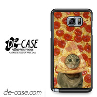 Cat Pizza Funny Tv For Samsung Galaxy Note 5 Case Phone Case Gift Present