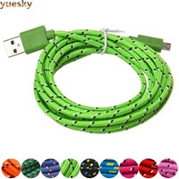 Micro USB Charger Sync Data Cable Cord for Android Phone (Style:2M/6FT , 3M/10FT)