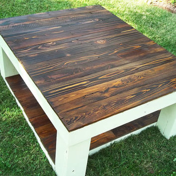 Reclaimed Pallet Table, Coffee Table, Reclaimed Wood
