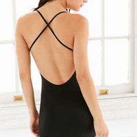 Out From Under Fusion Cross Open Back Slip - Urban Outfitters