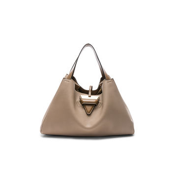 Loewe Barcelona Tote Bag in Sand & Mink Colour | FWRD