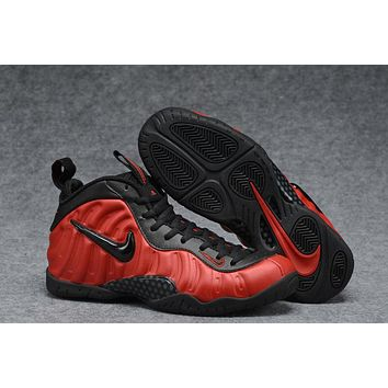 Nike Air Foamposite Pro Red/Black Men Basketball Shoe