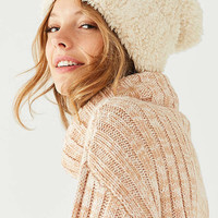 Furry Teddy Beanie | Urban Outfitters