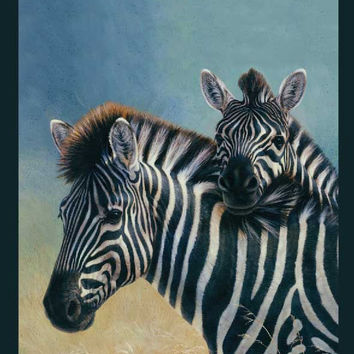 Zebras Signature Queen Blanket - Free Shipping in the Continental US!
