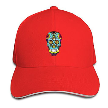 Bassnectar Logo Unisex 100% Cotton Adjustable Trucker Hat Red One Size