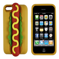 Hot Dog 3D iPhone Case