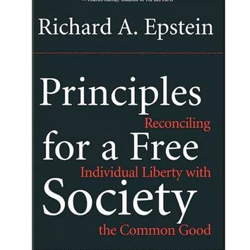 Principles For a Free Society Paperback Book