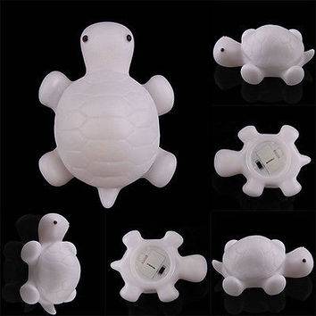 Sea Turtle Lovely Led Color Changing Night light Mood Room Home Decor Gift USHU