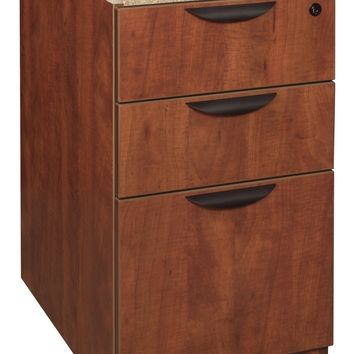 Legacy Box Box File Pedestal- Cherry