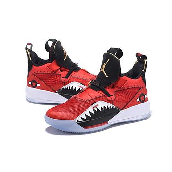 "Air Jordan 33 XXXIII AJ33 Sneaker - ""Fighter"""
