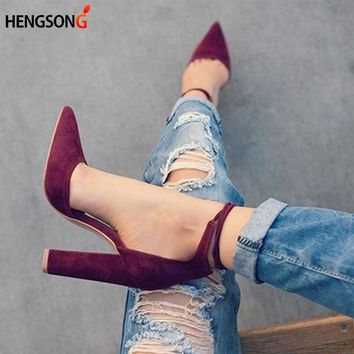 Women's Lace Up High Heels