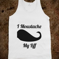 Moustache Stache BFF Shirts