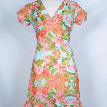Betty Dress in Pink Lily Mint Limited edition!!!