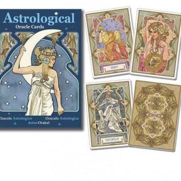 Astrological Oracle Cards (MULTILINGUAL)
