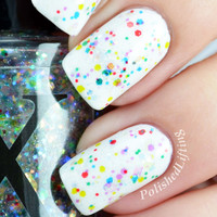 Twinkle Lights - Transparent Glitter Nail Polish Topper
