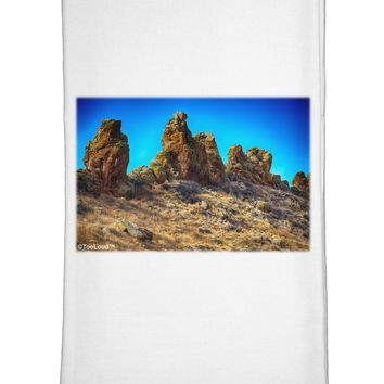 Crags in Colorado Flour Sack Dish Towel by TooLoud
