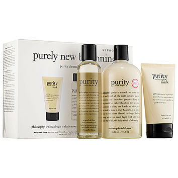 Purely New Beginnings Purity Cleansing Collection Trio - philosophy | Sephora