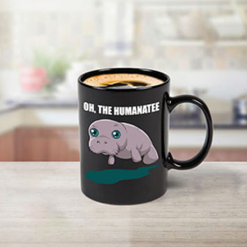 Color Changing Manatee Mug