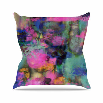 "Nina May ""Palisades"" Multicolor Outdoor Throw Pillow"