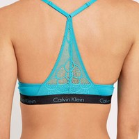 Calvin Klein Flirty Push Up Bra in Blue - Urban Outfitters