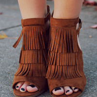 Gypsy Chic Heel - Brown