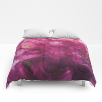Still Loving You Comforters by duckyb