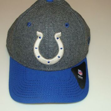 New Era Hat Cap NFL Football Indianapolis Colts Meltop 39THIRTY S/M Structured