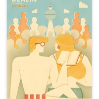 Human Empire Artist Series Berlin Poster #1 (50x70cm) | Human Empire Shop