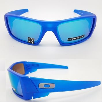NEW Oakley Gascan sunglasses X Ray Blue Sapphire Prizm 9014-34 Spectrum col Xray