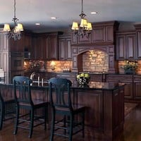 new house ideas / Kitchens .com - Traditional Kitchen Photos - Country Manor Kitchen#photo