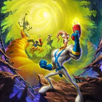 Earthworm Jim Video Game Poster