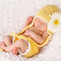 Newborn Baby Girls Boys Crochet Knit Costume Photo Photography Prop = 4457518404