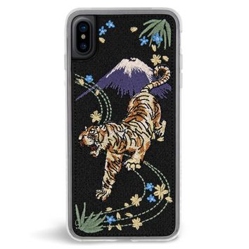 Fuji Embroidered iPhone X Case
