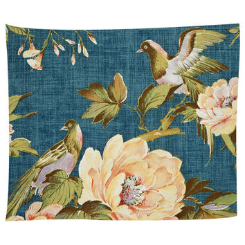 Vintage Fabric Tapestry