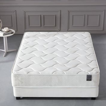 New Century® Cool Memory Foam Organic Cotton Comfort Firm 10 Inch Mattress