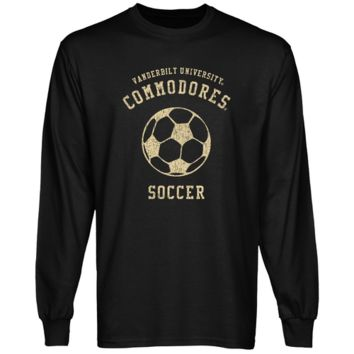 Vanderbilt Commodores Club Long Sleeve T-Shirt - Black