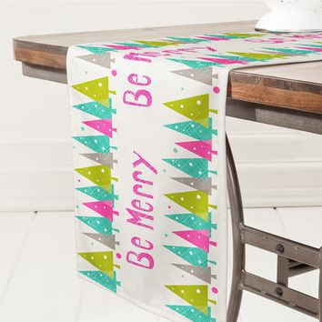 Heather Dutton Be Merry Table Runner