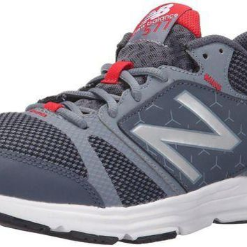 DCCK1IN new balance men s 577v4 cush training shoe grey red 7 d m us