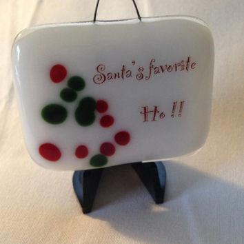 Santa's Favorite Mini Stand-up Plaque