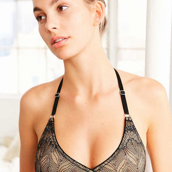 Madalynne For Out From Under Sierra Lace Wrap Bra - Urban Outfitters