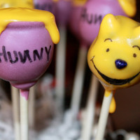 Winnie The Pooh and Honey Pots Cake Pops