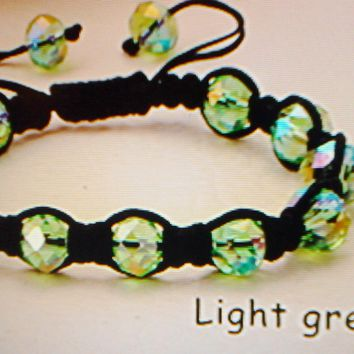 Stylish Color Green Bracelet Bead Fashion Jewelry Arm Bracelet