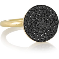 Elena Votsi - Cyclos 18-karat gold diamond ring