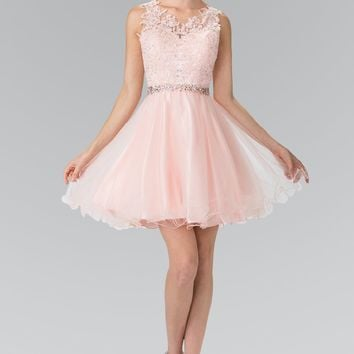 Trendy short homecoming dress and prom gown